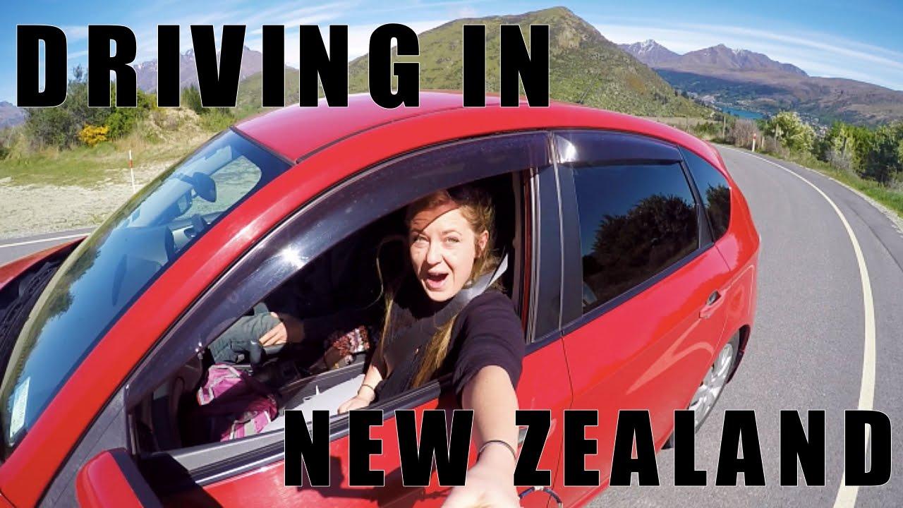 Berkendara di New Zealand