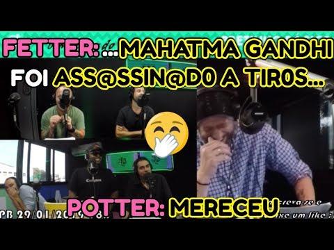 FETTER: ...MAHATMA GANDHI FOI ASS@SSIN@D0 A TIR0S ... POTTER: MERECEU
