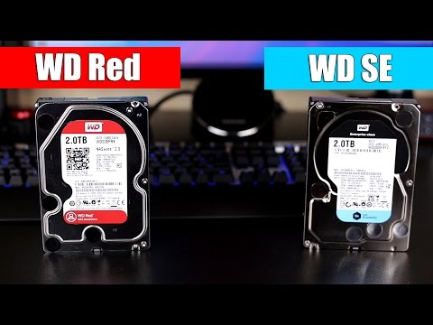 Обзор WD Red, WD SE. Жесткие диски Повышенной Надежности