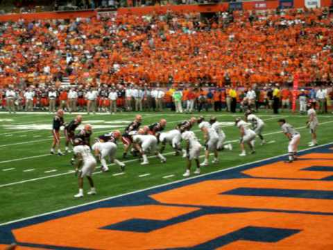 Greg Paulus 1st game and 1st interception (Syracuse)