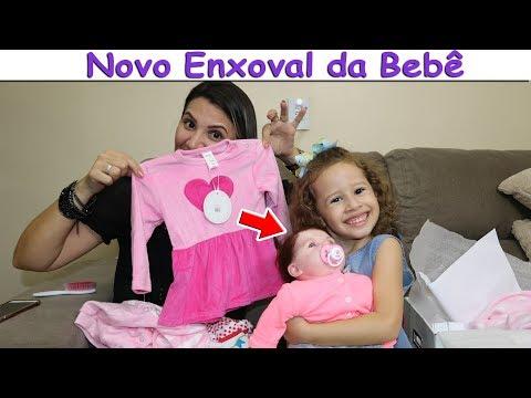 2474476b94 COMPRANDO NOVO Enxoval da Bebê Reborn ( ROUPINHAS SAPATINHOS) - VALENTINA -  YouTube