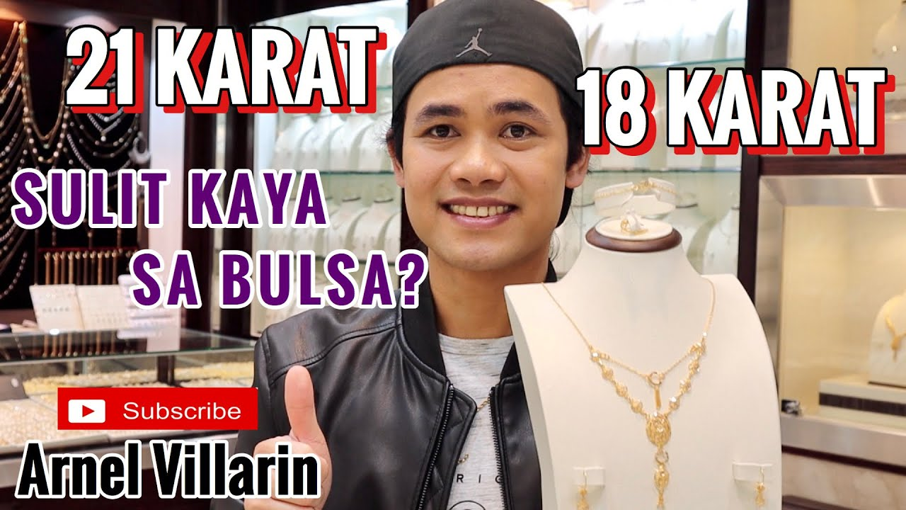 21k 18k Gold Price Plus Discounted Price Php Convertion Youtube