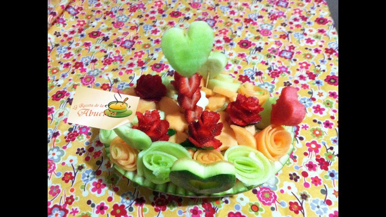 C mo hacer una ensalada de frutas para el d a de san for Como secar frutas para decoracion