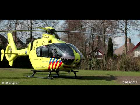 ANWB Medical Air Assistance Landing @Krimpen aan den IJssel (04/13/2013)