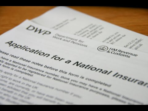 Work in the UK - Apply for the national insurance number Video