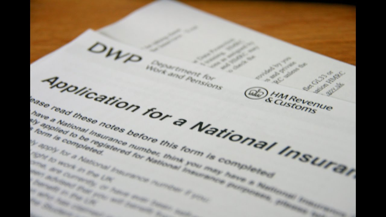 National insurance number - Work in the UK - - YouTube