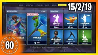 *RARE* SOCCER SKINS ARE BACK!! | 60 Second Fortnite Shop (Fortnite Battle Royale)