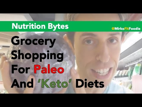 Grocery Shopping for Paleo
