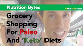 Grocery Shopping For Paleo's 'five Staple Foods' - Mirko Fit Foodie