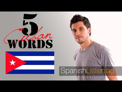 5 common Cuban words