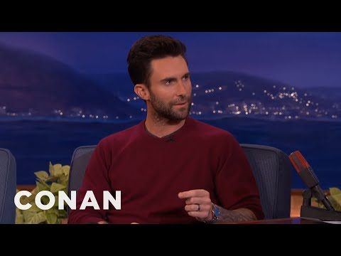"""Adam Levine: """"Blake Shelton Wants To Have Sex With Me""""  - CONAN on TBS"""