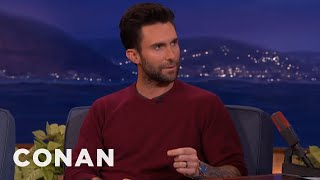 adam levine blake shelton wants to have sex with me conan on tbs