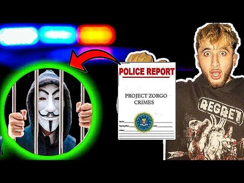 PROJECT ZORGO CRIMES EXPOSED! | POLICE REPORT ON PROJECT ZORGO FILED?!
