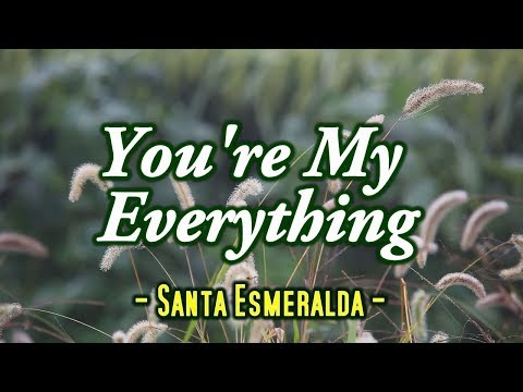 You're My Everything - Santa Esmeralda (KARAOKE)
