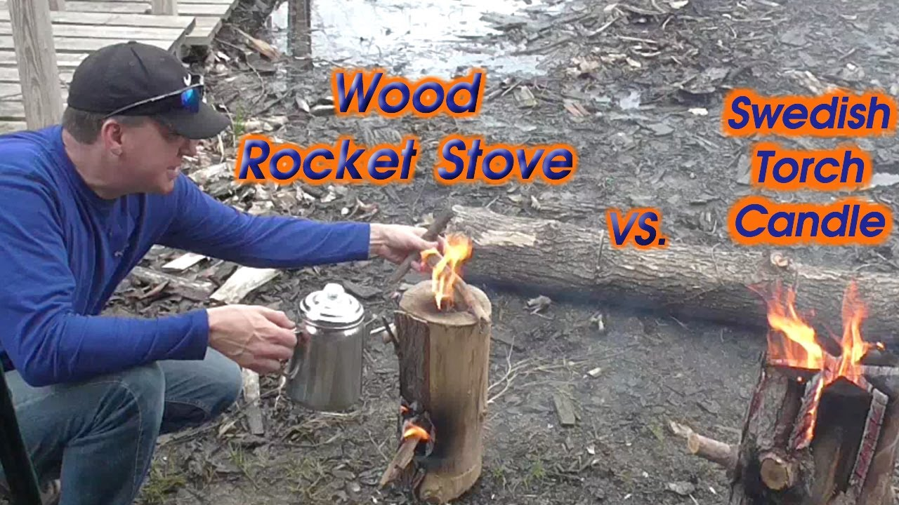 Wood Rocket Stove The Fire Challenge Youtube