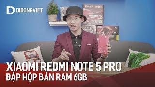 Đập hộp Xiaomi Redmi Note 5 Pro bản RAM 6GB