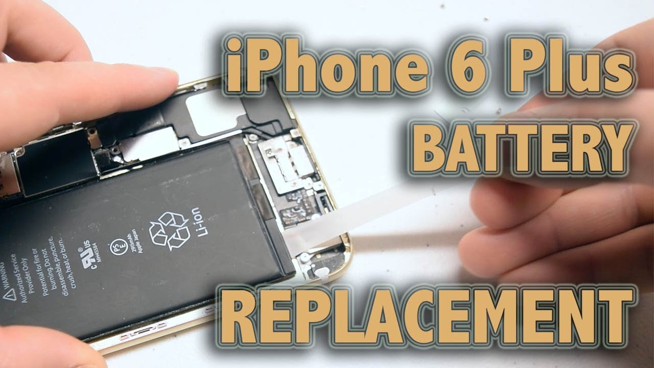 iphone 6 plus battery replacement