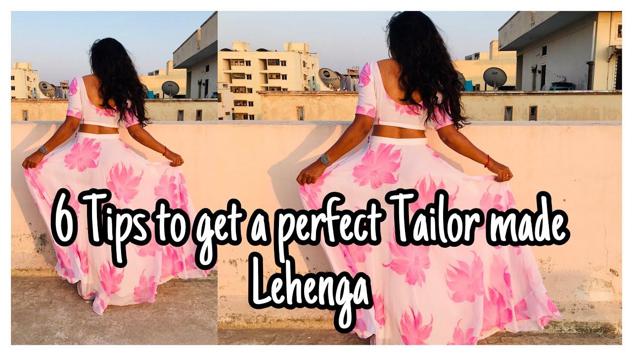Tips to Get a Perfect Tailor made Lehenga   Tailor made Lehenga's   nayalooks   Navya Varma