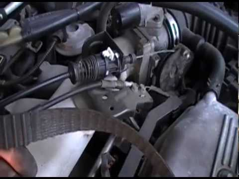 1997 Ford Escort 20l SOHC Timing Belt Replacement Part 1 - YouTube