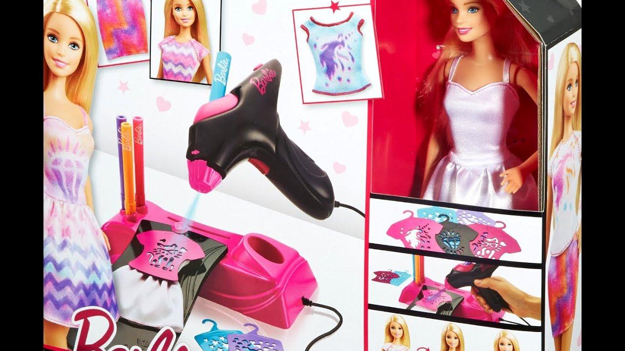 Barbie Airbrush Designer Doll Playset