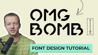 How to Make a Font - Font Design Full Process