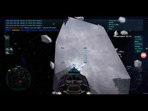 Vendetta Online Android TV: Mining my own Biz...