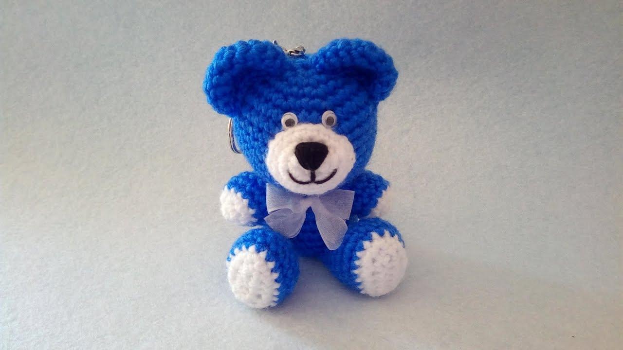 Keychain Little Bear, Amigurumi Bear | 720x1280