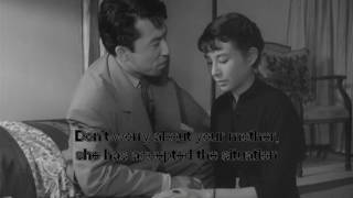 """Uwasa no onna"" (""Une femme dont on parle"") de Kenji Mizoguchi, 1954, avec Kinuyo Tanaka, Tomoemon Otani et Yoshiko Kuga. Je ne possède aucun droit ..."