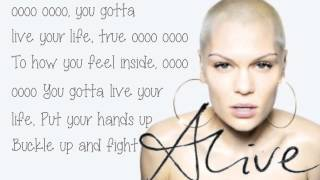 Jessie J- Harder We Fall (Lyrics) ♥