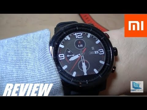 Review Xiaomi Amazfit Pace 2 Stratos Smartwatch Youtube