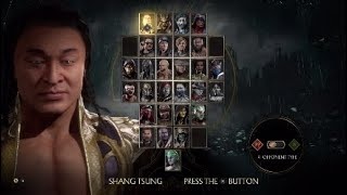 Johnny Cage's nicknames for Shang Tsung