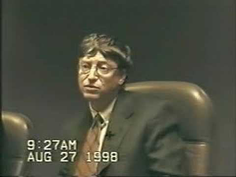 Bill Gates - Deposition Part 1