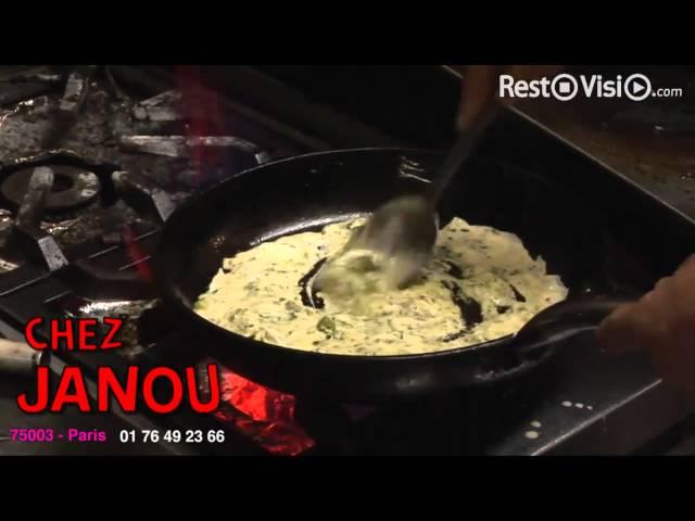 Chez Janou - Restaurant Paris 03 - RestoVisio.com