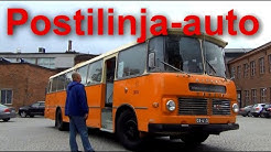 Postilinja-auto 1968 Vanaja Ajokki vanha linja-auto