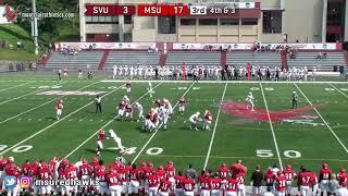 Montclair State Football Highlights vs. So. Virginia - 9/15/18
