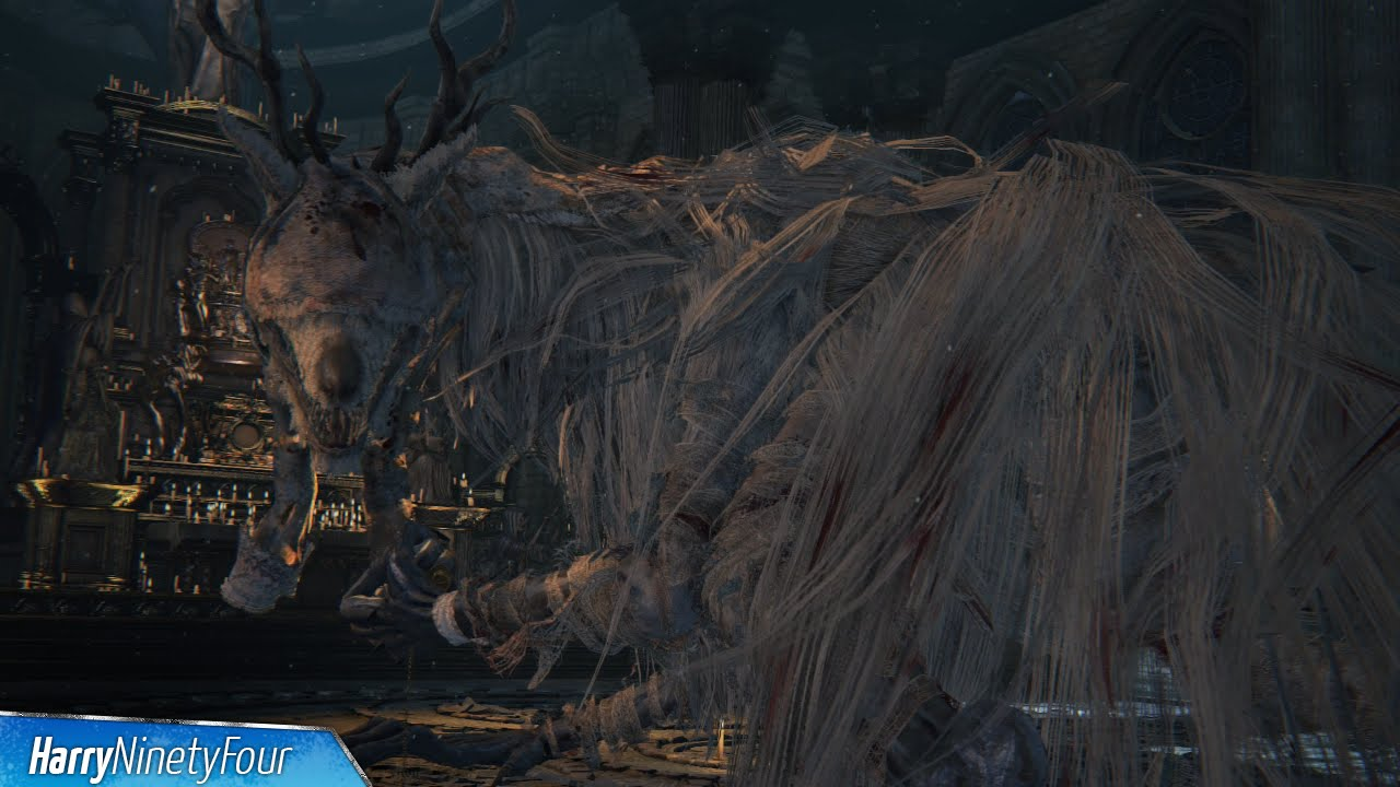 bloodborne - vicar amelia location and boss fight  vicar amelia trophy guide