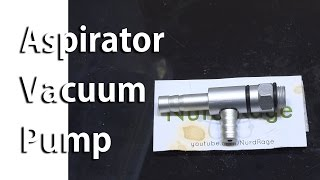 Lab Equipment: Aspirator Vacuum Pump