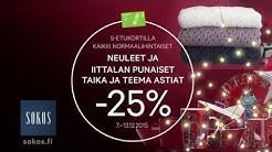 Neuleet ja Iittalan punaiset Taika ja Teema -astiat -25 % | Sokos