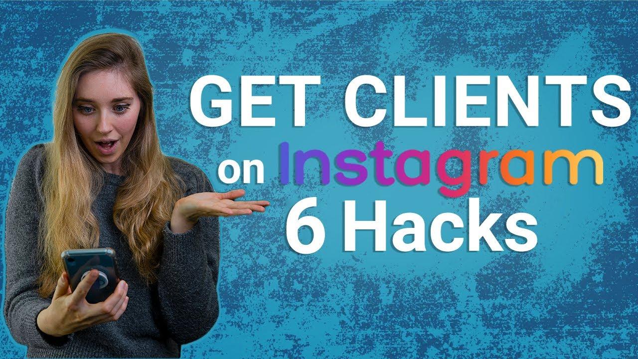 Get Clients on Instagram!