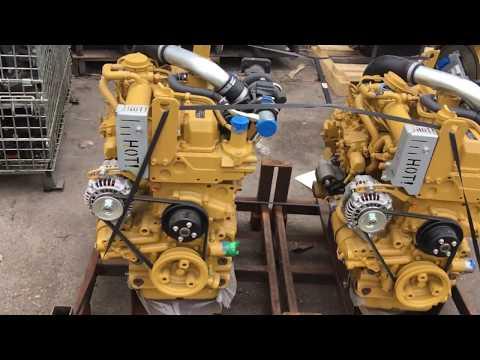 Caterpillar C3.3 or Kubota V3307 engine for sale