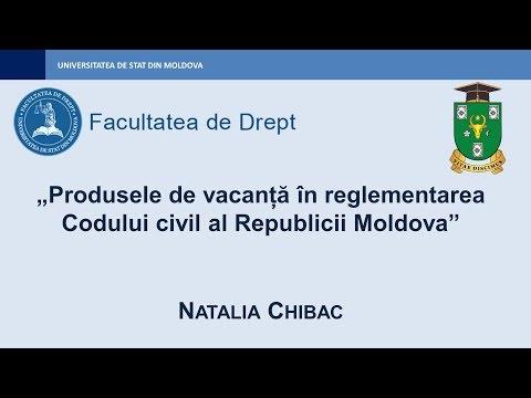 Natalia Chibac — Produsele de vacanță în reglementarea Codului civil RM