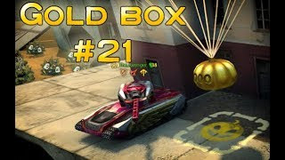 Tanki online Halloween  Gold Box video #21 By S.H.7.N