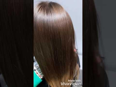Ботокс для волос Нано-пластика.