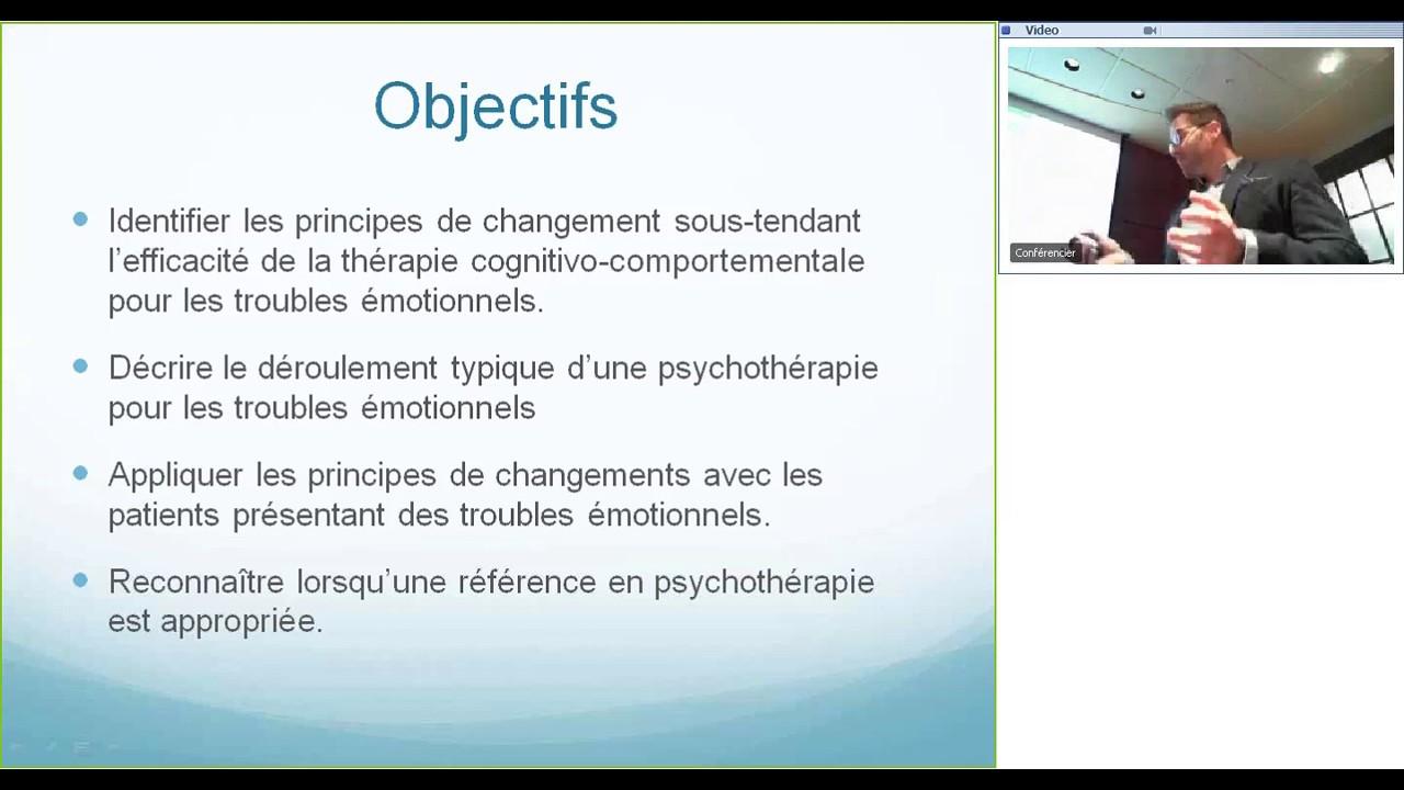 thérapie cognitivo comportementale