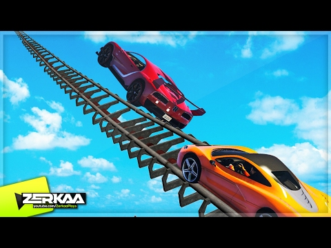 NEW ROLLERCOASTER IN GTA 5?! (GTA 5 Funny Moments)