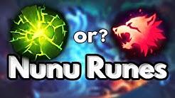 Nunu Runes  Season 10