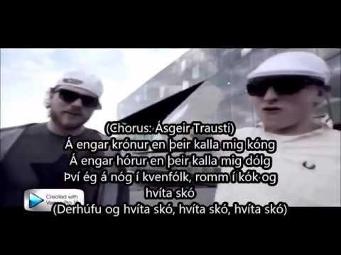 Blaz Roca og Ásgeir Trausti - Hvítir Skór (music video með texta)