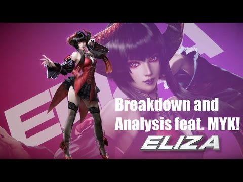 Tekken 7 Eliza Pre-Order DLC Character Breakdown and Analysis feat. MYK!