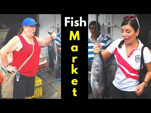 Mexico Travel - Fish Market in Alvarado Veracruz