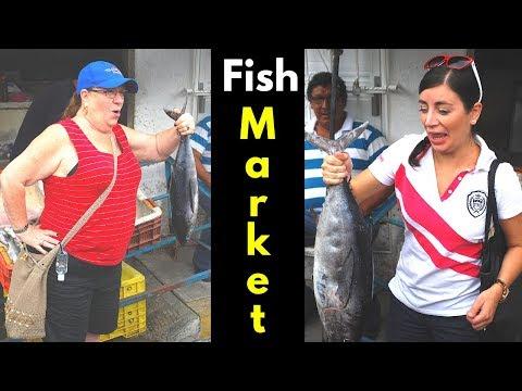 Mexico Travel - Fish Market in Alvarado Veracruz